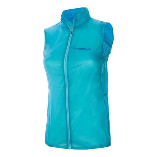 Trangoworld Azara Vest W - Azul Turgquesa/Azul Oscuro