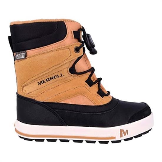 Merrell Ml-Boys Snow Bank 2.0 Wtrpf - Wheat/Black
