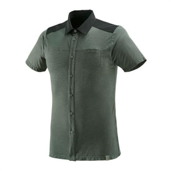 Millet Cloud Peak Wool Shirt - Castle Gray
