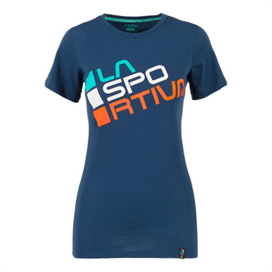 La Sportiva Square T-Shirt W - Opal