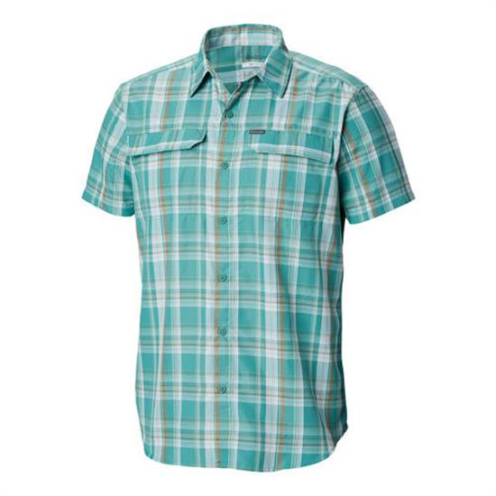 Columbia Silver Ridge 2 Multi Plaid SS Shirt - 344