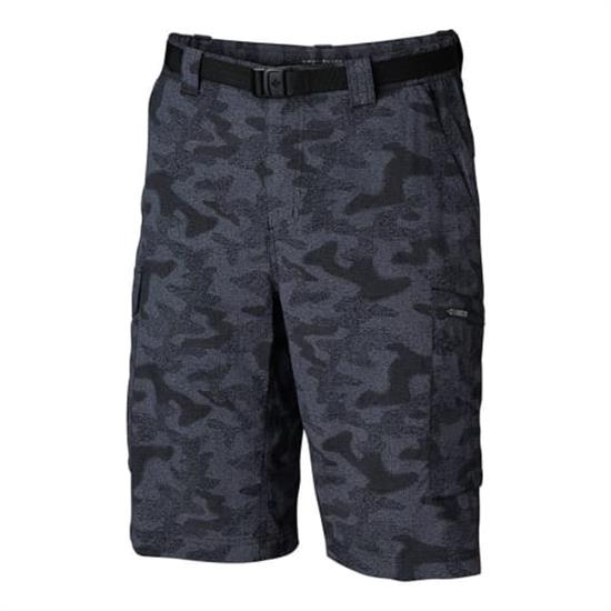 Columbia Silver Ridge Printed Cargo Short - Black