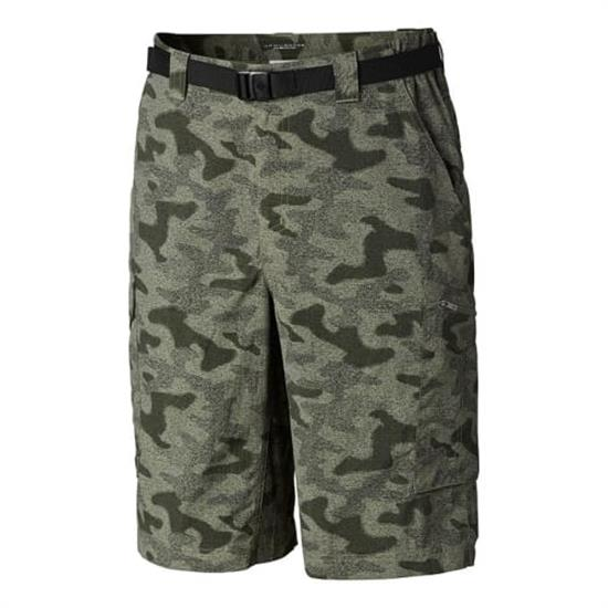 Columbia Silver Ridge Printed Cargo Short - Cypress