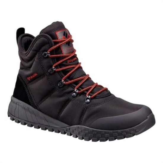 Columbia Fairbanks Omni-Heat - Black/Rusty