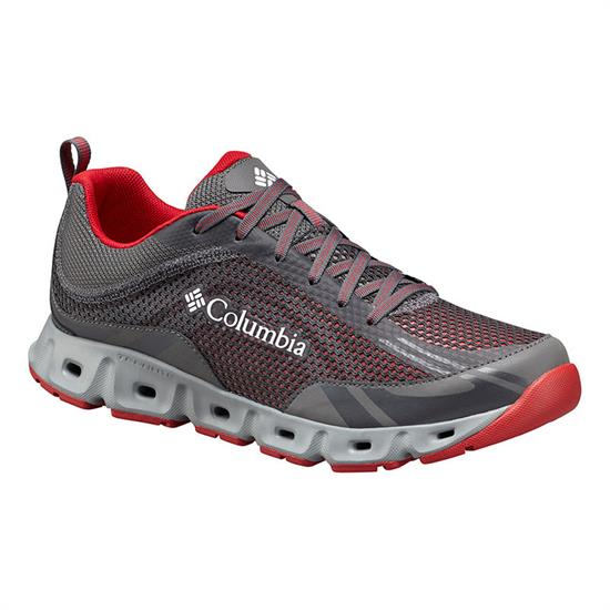 Columbia Drainmaker IV - City Grey/Mountain Red