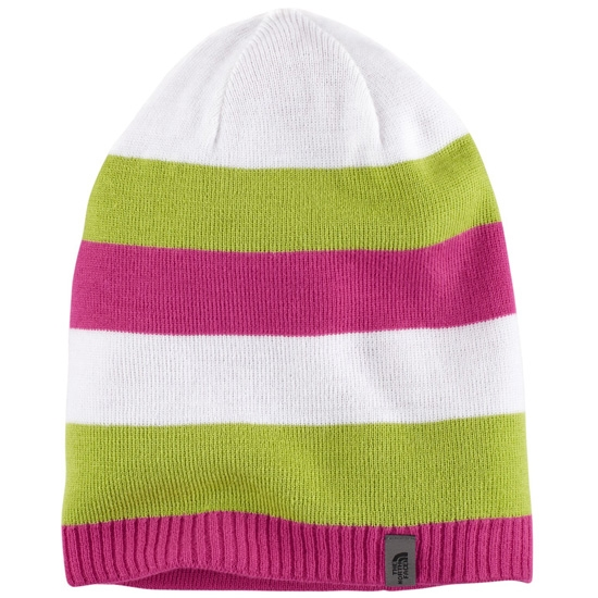 The North Face Youth Reversible Leavenworth Beanie - Fusion Pink