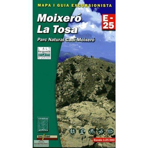 Ed. Alpina Mapa Moixeró La Tosa E25 -