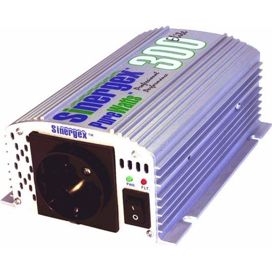 Sinergex Convertidor 12 VDC A 220 VAC 300W -