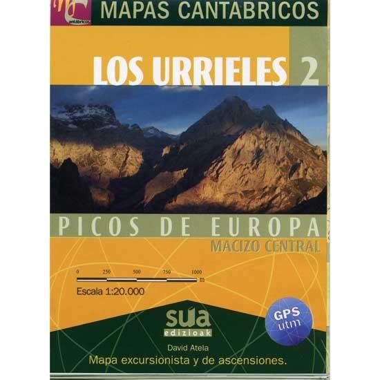Ed. Sua Urrieles 2 Mapas Cantábricos -