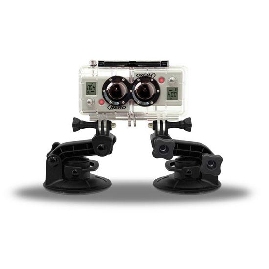 Go Pro 3D Double Housing with Synchronized Cable - Photo of detail