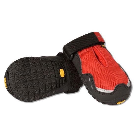 Ruffwear Bark´n Boots Grip Trex - Rouge
