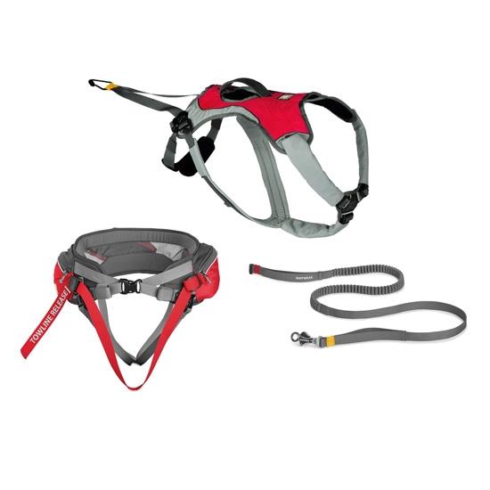 Ruffwear Omnijore Joring System - Red