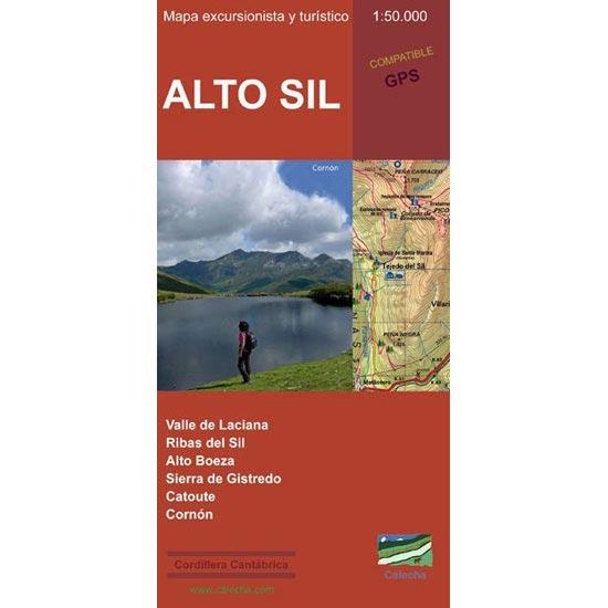 Ed. Calecha Alto Sil  Hiking Map 1:50000 -