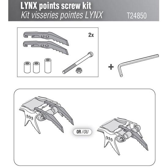 Petzl Lynx Points screw Kit -