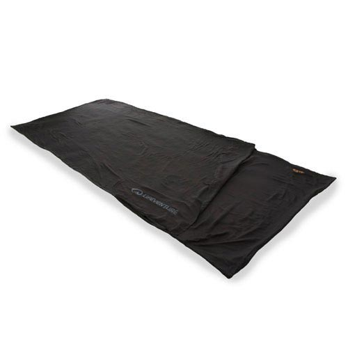 Lifeventure EX3 Silk Sleeper Rectangular Black -