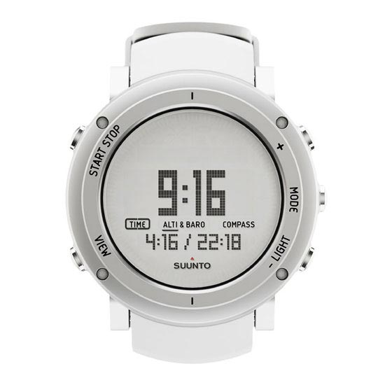 Suunto Core Alu Pure White -