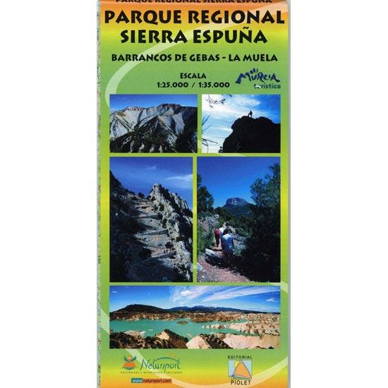 Ed. Natursport Mapa P.R Sierra Espuña -