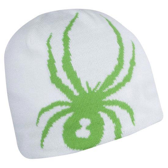 Spyder Reversible Innsbruck Hat - Blanc/vert classique