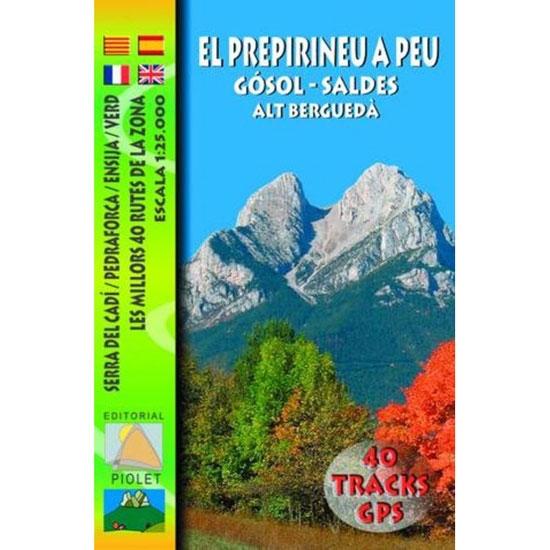 Ed. Piolet El Prepirineu a peu. Gósol − Saldes. Alt Berguedà -