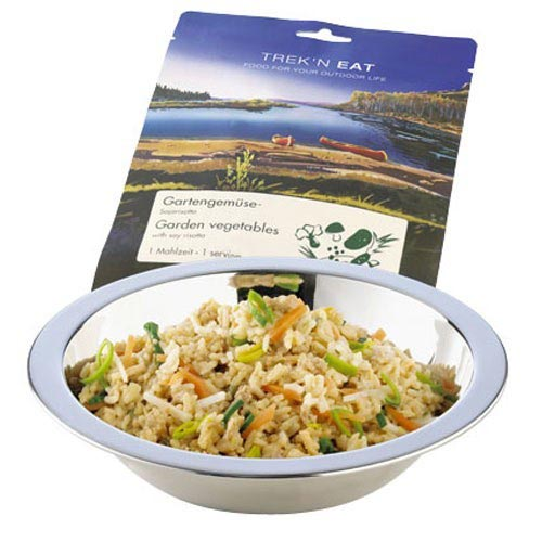 Trek'n Eat Risotto au soja et légumes du jardin 160g -