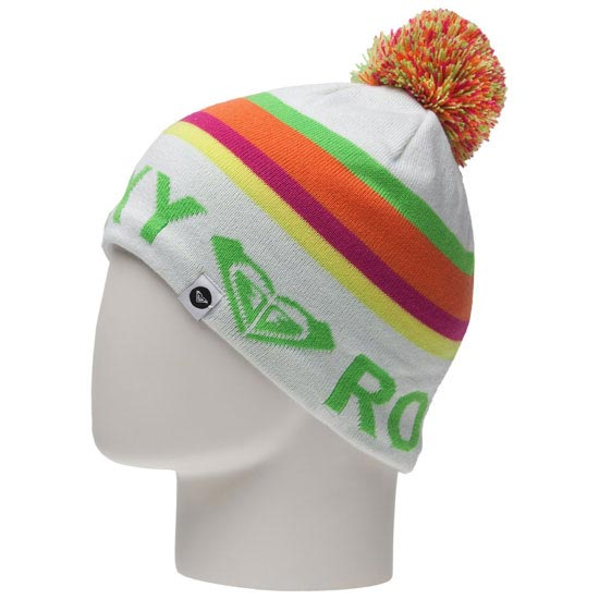 Roxy Creek Girl Beanie - Blanc