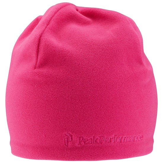 Peak Performance Fleece Hat - Pink Royal