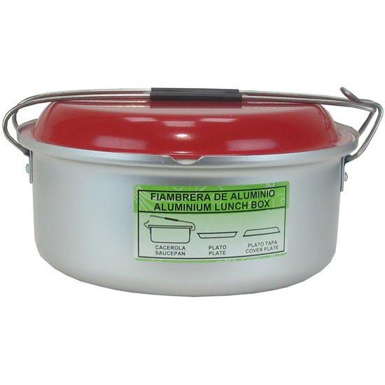 Laken Aluminium Lunch Box Red 18 cm - Rouge