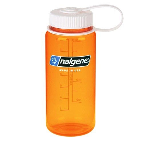 Nalgene Wide Mouth Bottle - Orange - 0.5 L