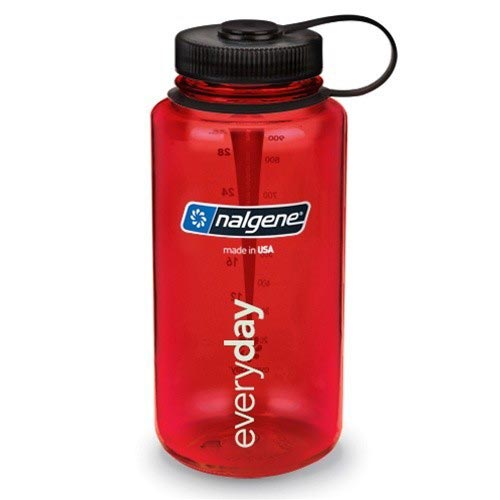 Nalgene Wide Mouth Bottle - Red - 1 L