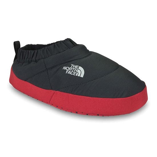 The North Face Boys' Nuptse Tent Mules II - TNF Black / Fiery Red