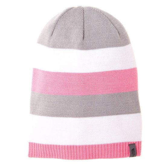 The North Face Reversible Leavenworth Beanie Jr - Razzle Pink
