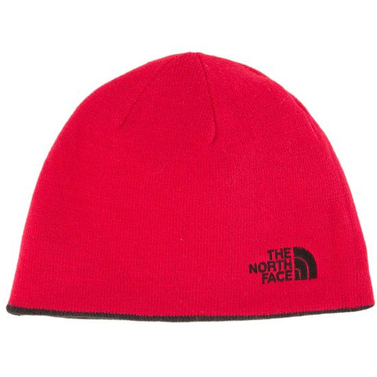 The North Face Reversible TNF Banner Beanie - TNF Black/TNF Red
