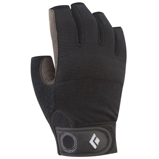 Black Diamond Crag Half-Finger - Negro