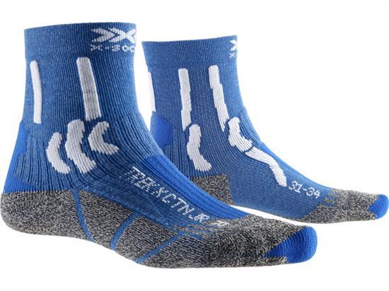 Xsocks Trek X Ctn Jr Lake Blue/arctic White - A051