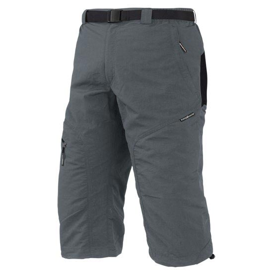 Trangoworld Brood Pant 3/4 - Gun Metal/Noir