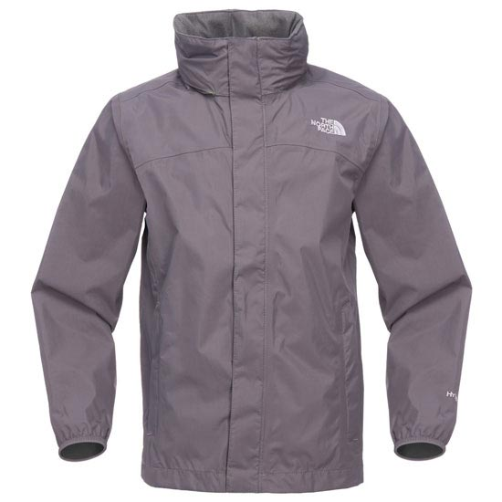 The North Face Boy´s Resolve Jacket - Graphite Grey/Sulphur Spring Green