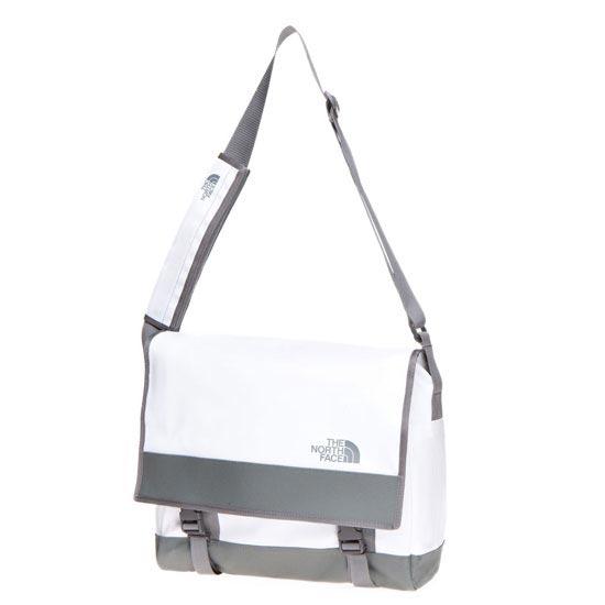 The North Face Base Camp Messenger Bag - M - TNF White/Zinc Grey