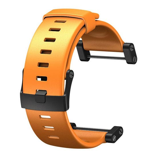 Suunto Bracelet élastomère orange avec ergots -