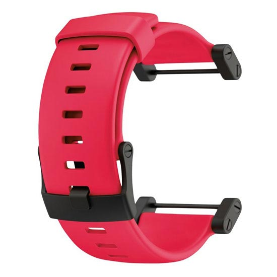 Suunto Core Red Rubber Strap -