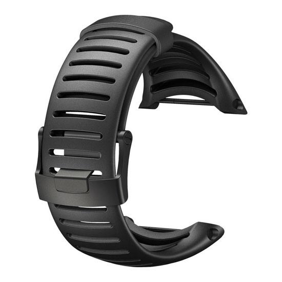 Suunto Core All Black Light Elastomer Strap -