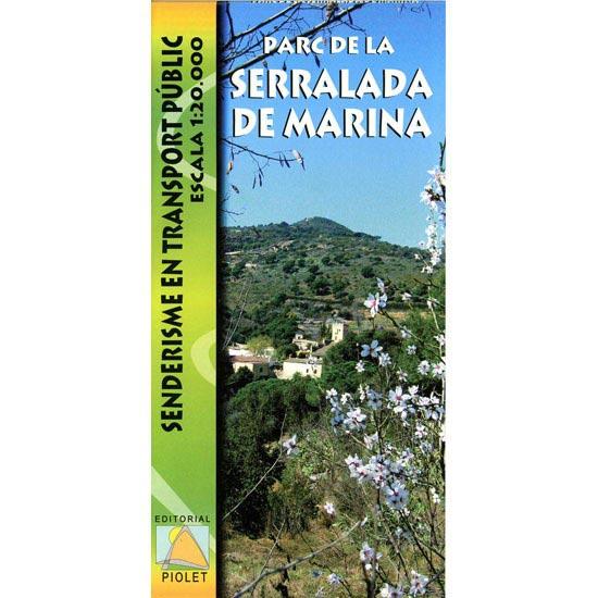 Ed. Piolet Mapa Serralada Marina 1:25.000 -