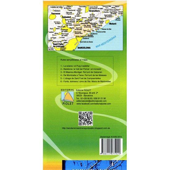 Ed. Piolet Mapa Serralada Marina 1:25.000 - Photo of detail