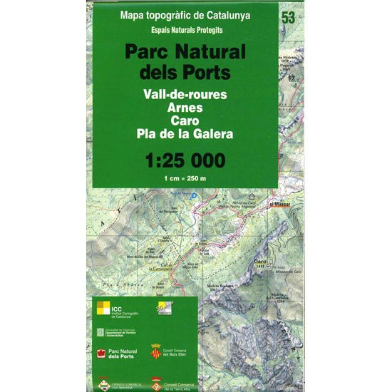 Icc (catalunya) Espais Naturals P.N. Ports 1.25.000 -