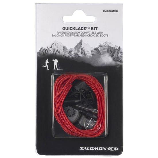 Salomon Quicklace Kit Red -