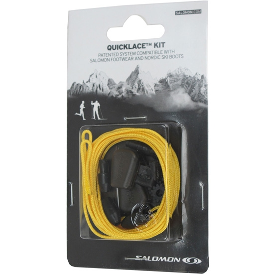 Salomon Quicklace Kit Yellow -
