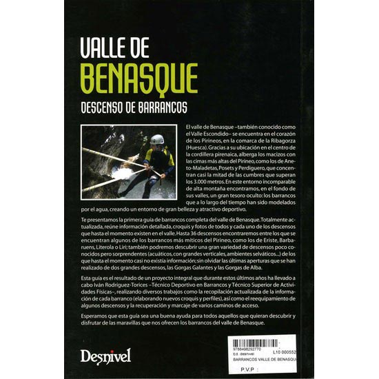 Ed. Desnivel Barrancos Del Valle De Benasque - Photo of detail