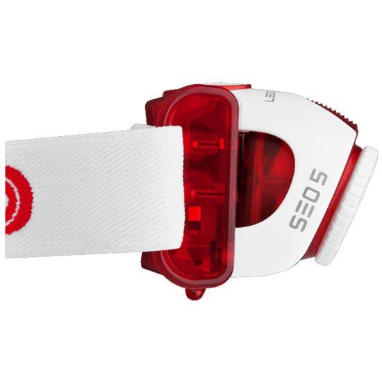 Led Lenser SEO 5 rot 180 Lumens - Detail Foto