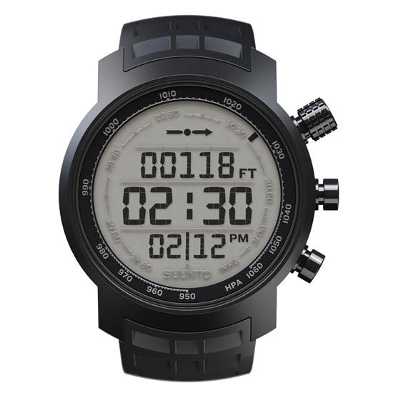 Suunto Elementum Terra Light Display - Black Rubber