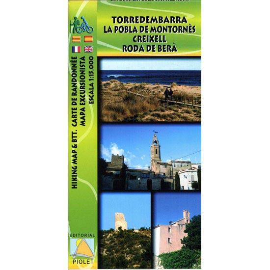 Ed. Piolet Mapa Torredembarra Roda -