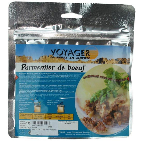 Voyager Dehydrated Veal Pie with Mashed Potato 130g -